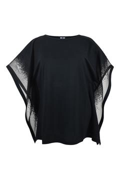 Katherine Barclay Burnout Sleeve Top - Product List Image