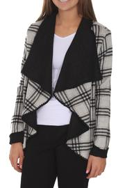 Katherine Barclay Black Ivory Jacket - Product Mini Image