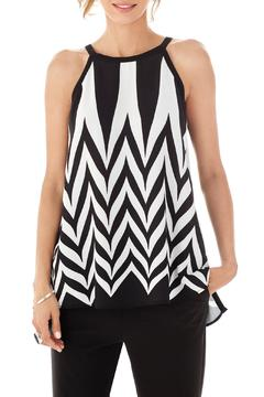 Shoptiques Product: Black And White Blouse