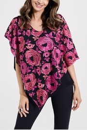 Katherine Barclay Embroidered Layered Top - Product Mini Image