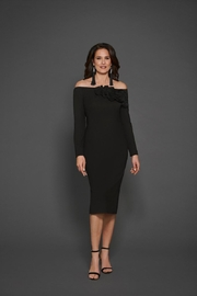 Katherine Barclay Longsleeve Black Dress - Product Mini Image