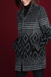 Katherine Barclay Patterned Coat - Product Mini Image