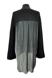 Katherine Barclay Pleated Swing Sweater - Side cropped