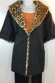 Katherine Barclay Reversible Leopard Coat - Product Mini Image