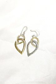 Kathy Kamei Double Teardrop Earrings - Front cropped