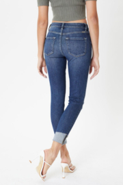 Kan Can Katie High Rise Button Skinny - Other
