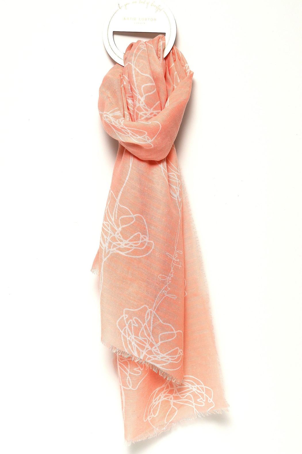 Katie Loxton Be-You-Tiful Sentiment Scarf - Main Image