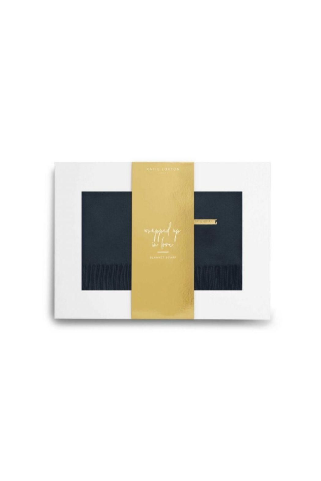 Katie Loxton Boxed Blanket Scarf Set - Front Full Image