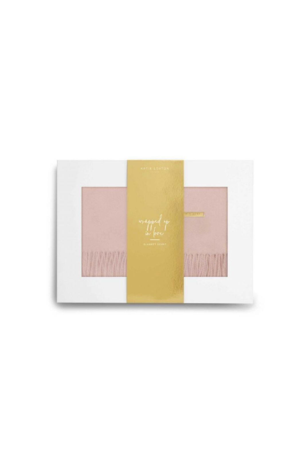Katie Loxton Boxed Blanket Scarf Set - Side Cropped Image