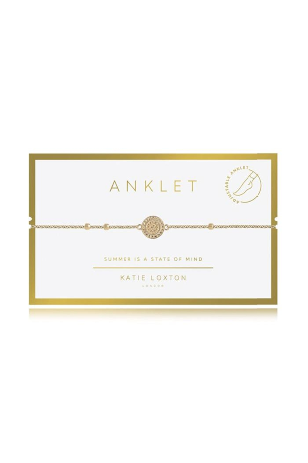 Katie Loxton Coin Anklet - Main Image