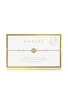 Katie Loxton Coin Anklet - Alternate List Image