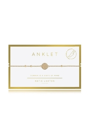 Katie Loxton Coin Anklet - Product Mini Image