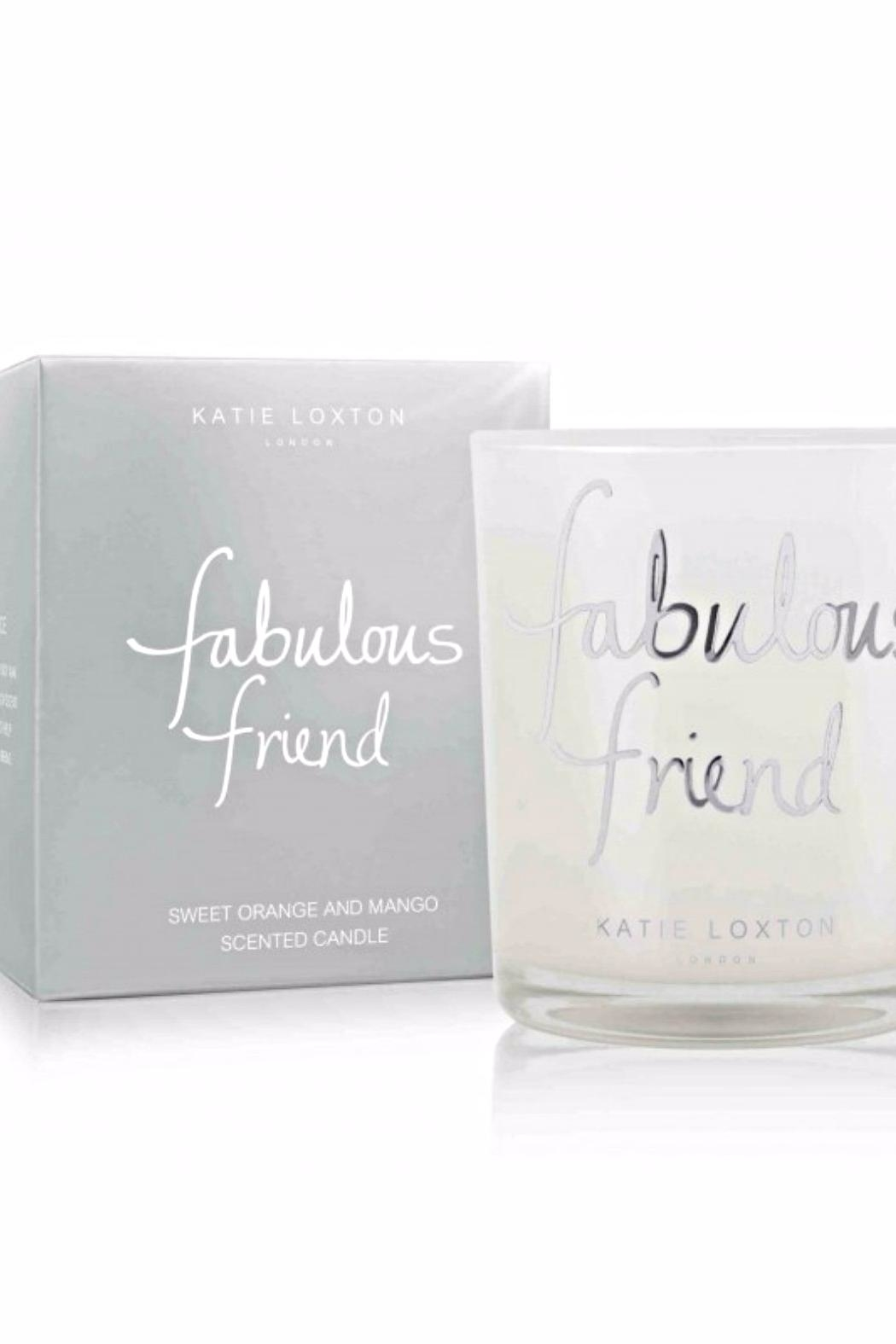 Katie Loxton Fabulous Friend Candle - Front Full Image