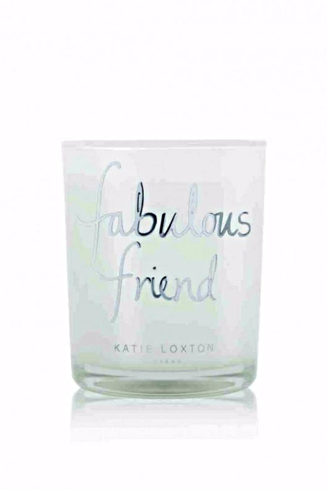 Katie Loxton Fabulous Friend Candle - Front Cropped Image