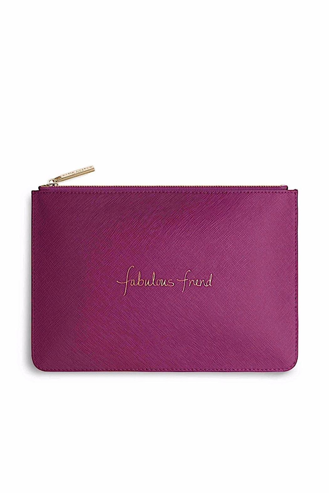 Katie Loxton Fabulous Friend Pouch - Front Cropped Image