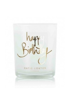 Katie Loxton Happy Birthday Candle-Gold - Alternate List Image