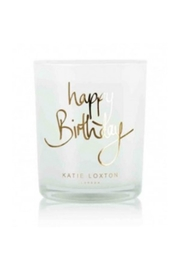 Katie Loxton Happy Birthday Candle-Gold - Product Mini Image