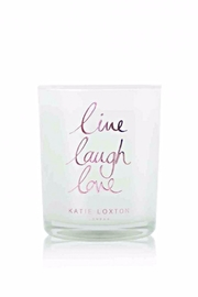 Katie Loxton Live Laugh Love Candle - Product Mini Image