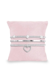 Katie Loxton Mom Stacking Bracelets - Front cropped