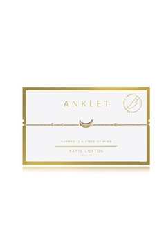 Katie Loxton Moon Anklet - Alternate List Image
