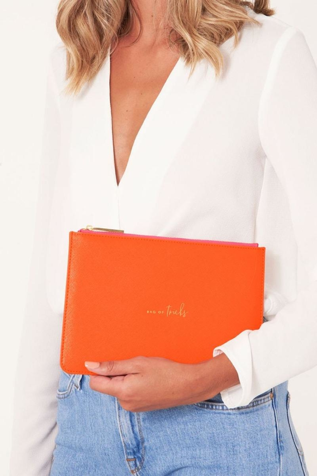 Katie Loxton Pop Of Colour Pouch - Front Cropped Image