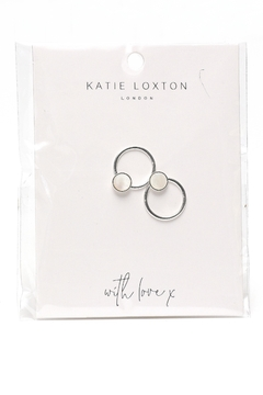 Katie Loxton Shell Statement Earrings - Product List Image