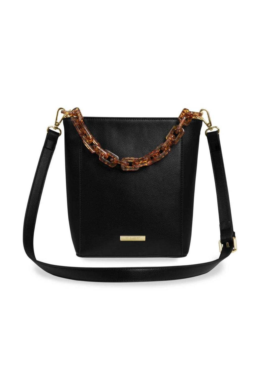 Katie Loxton Tortoiseshell Strap Bag - Front Cropped Image