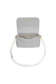Katie Loxton Two-Tone Messenger Bag - Front full body