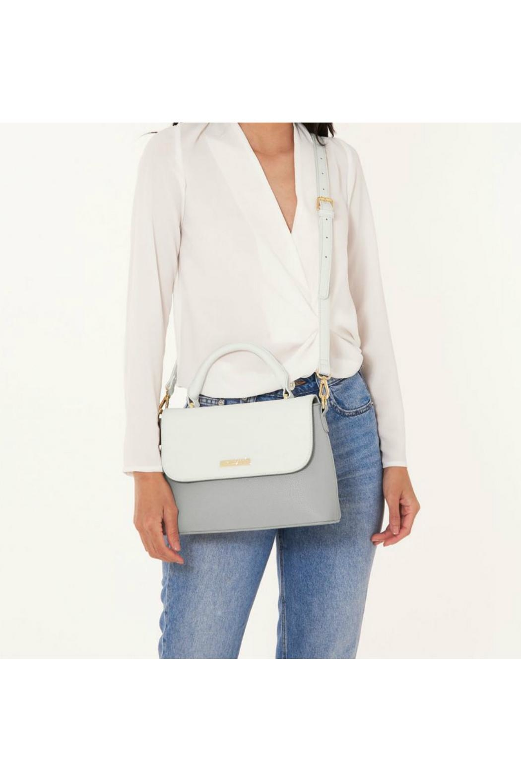 Katie Loxton Two-Tone Messenger Bag - Side Cropped Image