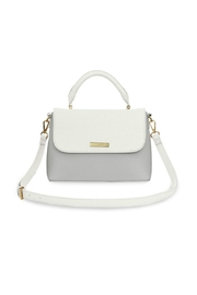 Katie Loxton Two-Tone Messenger Bag - Front cropped