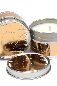 Shoptiques Product: With Love Trio Candle Set