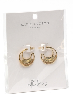 Katie Loxton Woven Statement Earrings - Product List Image