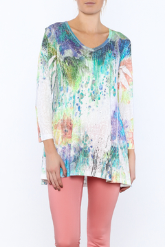 Shoptiques Product: Watercolor Tunic Top