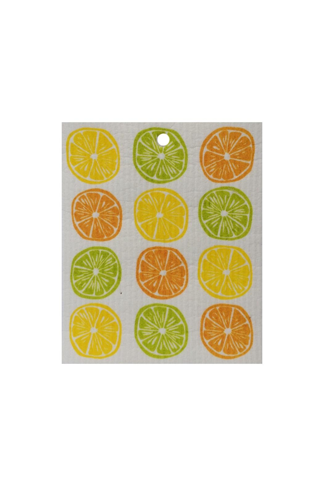 Kattinatt Swedish Washtowel Citrus - Main Image