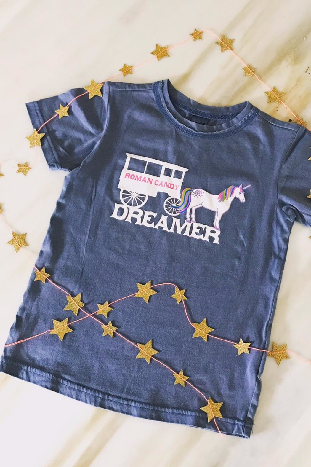 Kavio Dreamer Kids Tee - Front Cropped Image