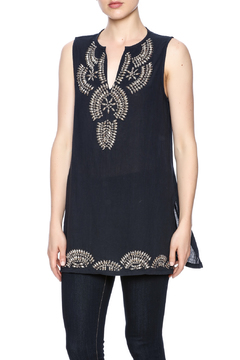 Shoptiques Product: Beaded Sleeveless Top