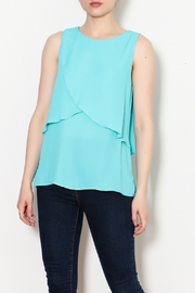 Kay Celine Charlotte Layered Top - Front cropped