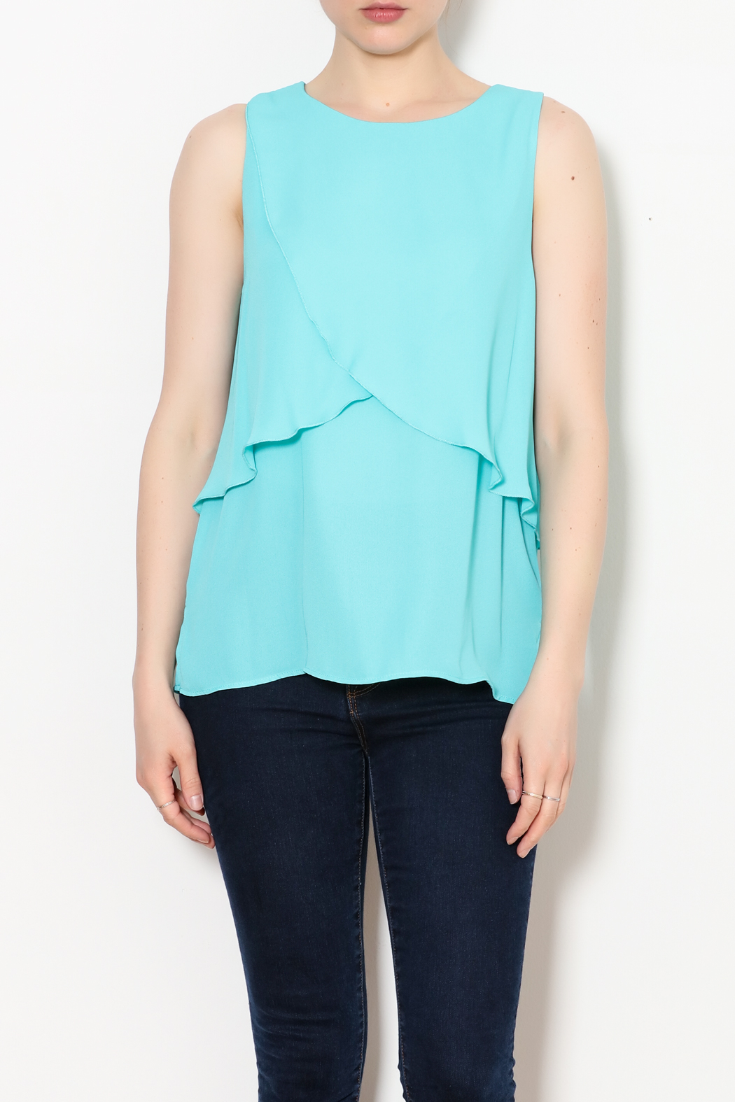 Kay Celine Charlotte Layered Top - Front Full Image