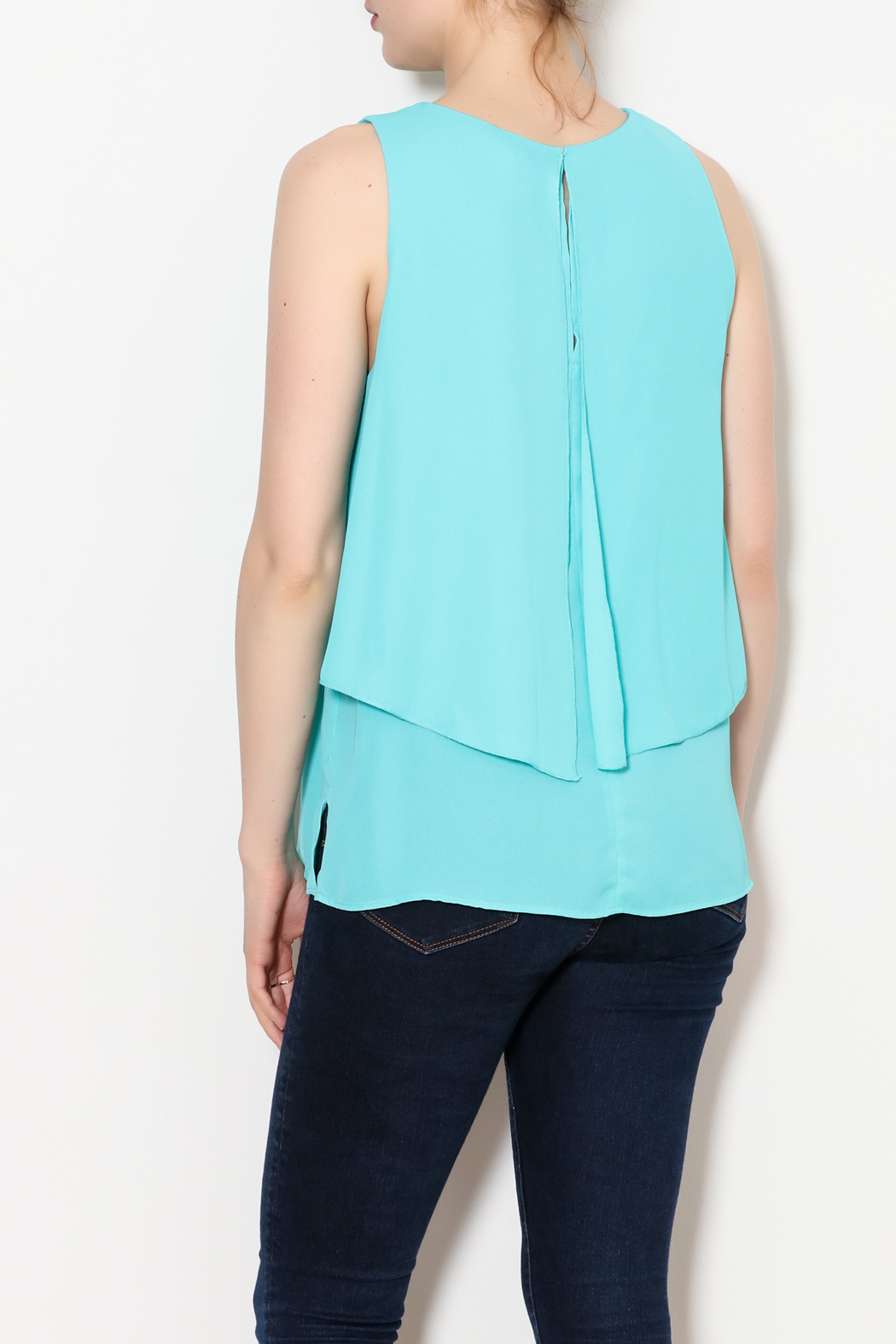 Kay Celine Charlotte Layered Top - Back Cropped Image