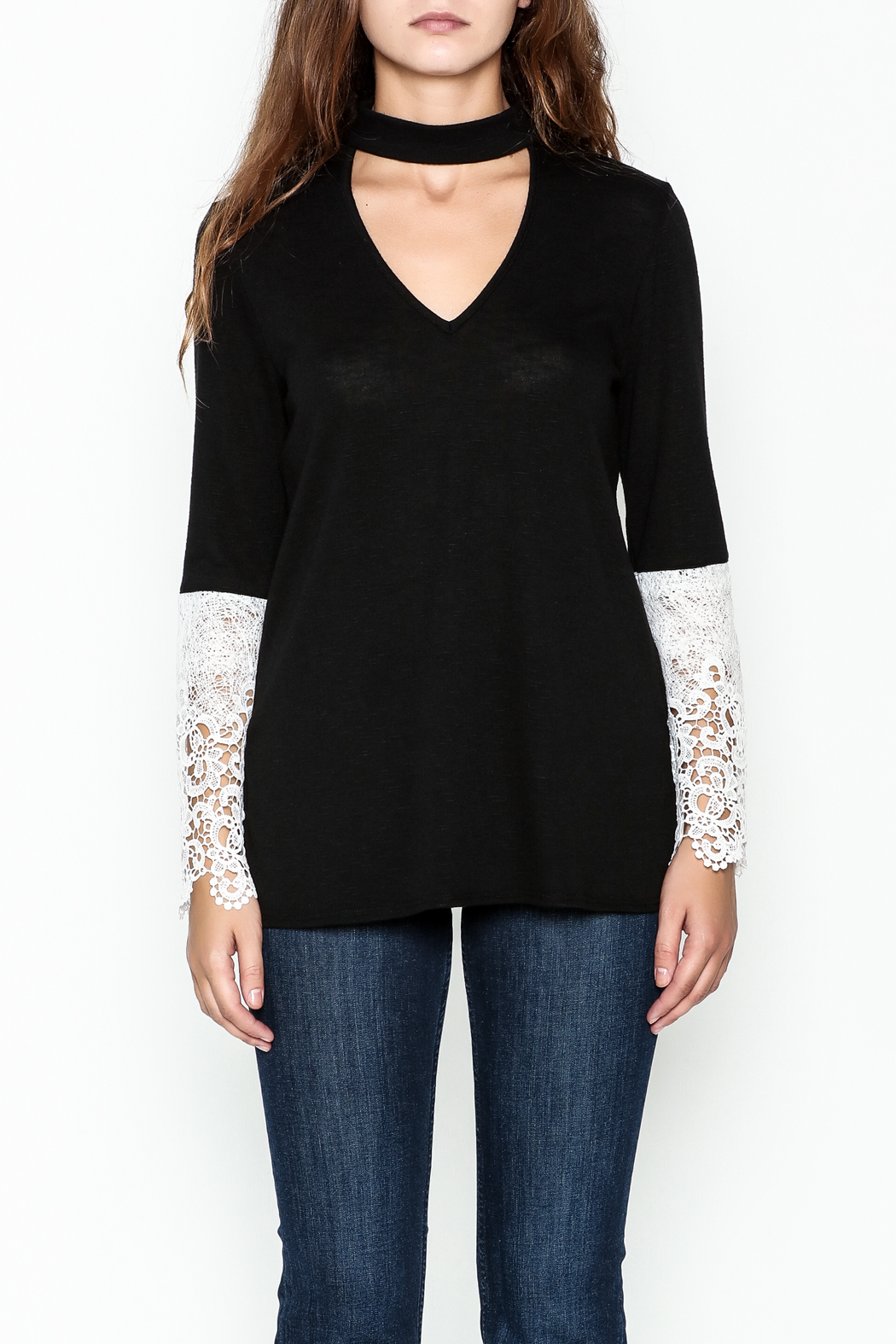 Kay Celine Danielle Cut Out Top - Front Full Image