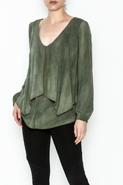Kay Celine Darcy Double Layer Blouse - Front cropped