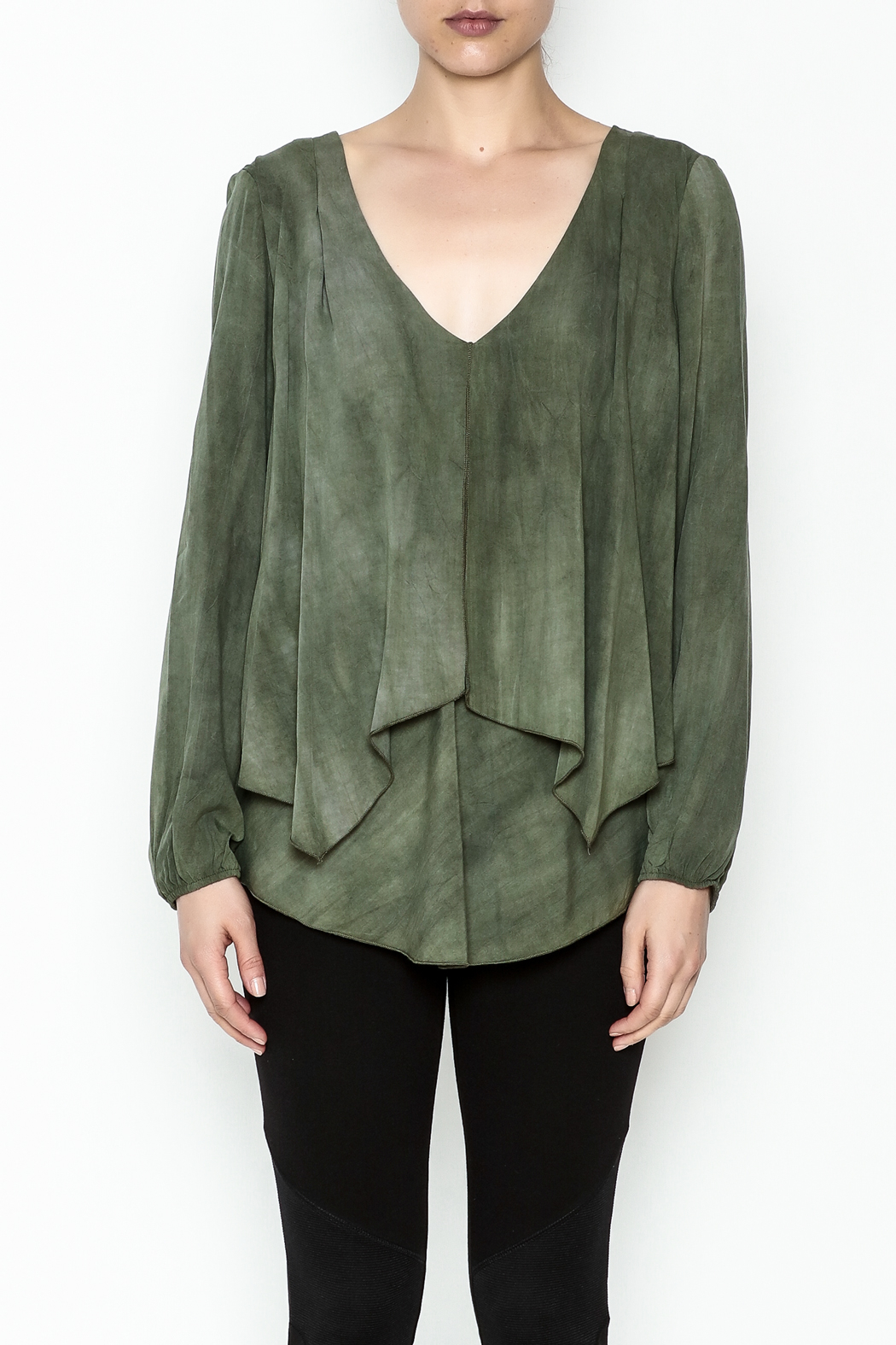 Kay Celine Darcy Double Layer Blouse - Front Full Image
