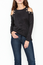 Kay Celine Farrah Cold Shoulder Top - Product Mini Image