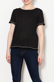 Kay Celine PomPom Trim Shirts - Product Mini Image