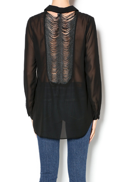 Shoptiques Product: Sheer Tunic Top