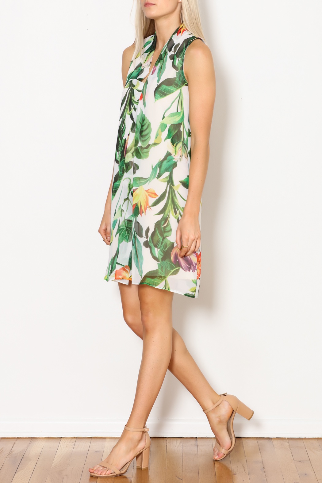 Kay Celine Tayah Multi-Colored Dress - Side Cropped Image