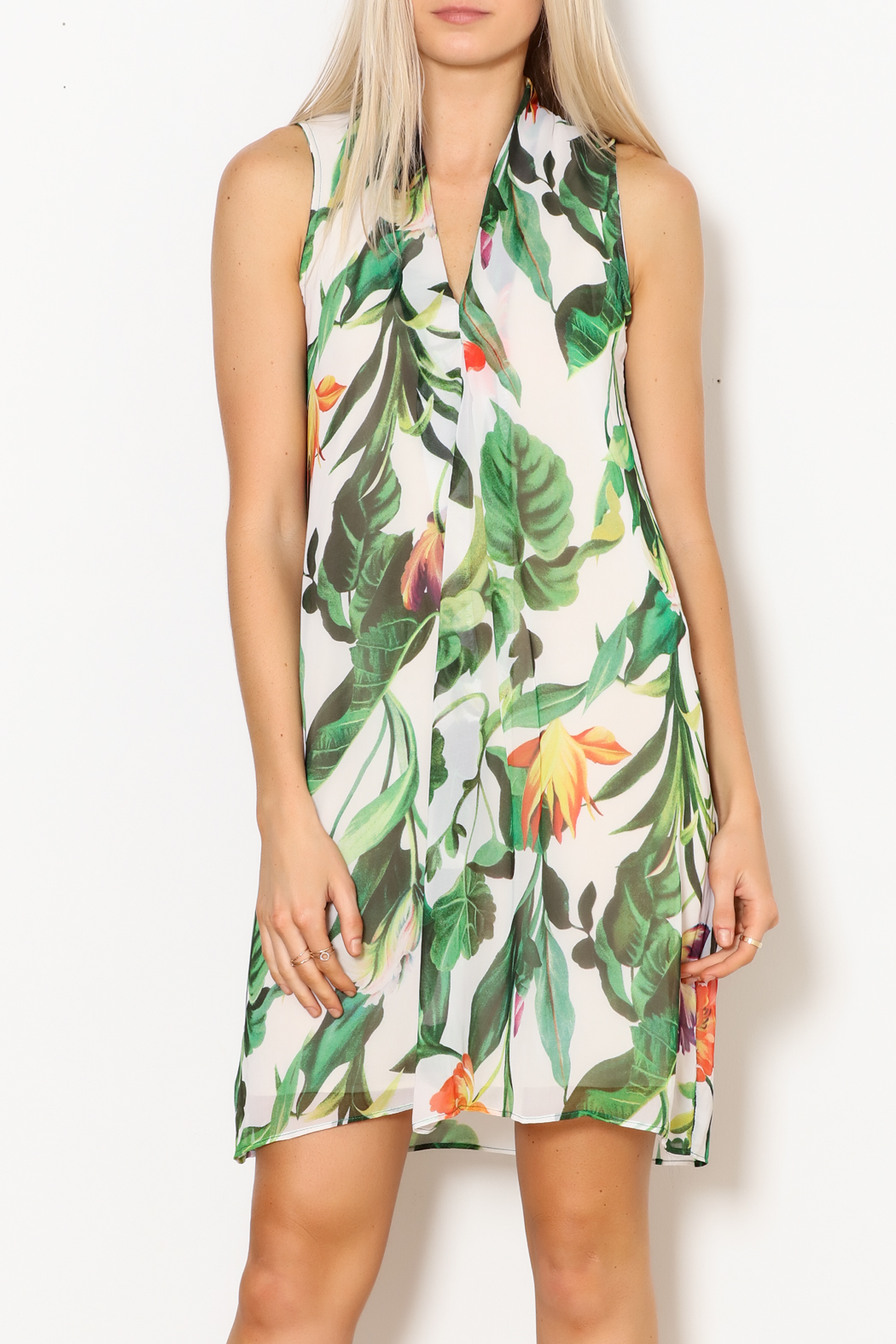 Kay Celine Tayah Multi-Colored Dress - Front Full Image