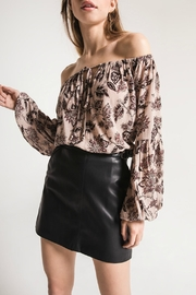 Others Follow  Kay Rose Top - Front cropped