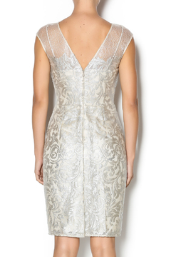 Kay Unger Lace Overlay Cocktail Dress - Alternate List Image