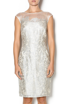 Kay Unger Lace Overlay Cocktail Dress - Product List Image